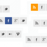Brankic social media icons sample