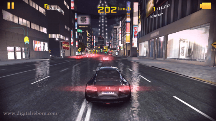 Asphalt 8 screenshot