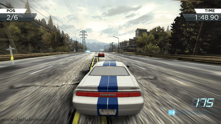 NFS most wanted screenshot