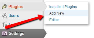 Add new WP plugin