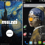 Muzei Android application
