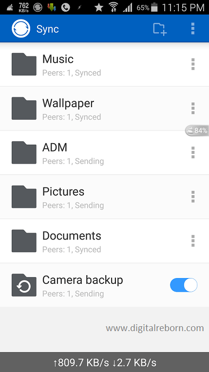 Bittorrent sync app main